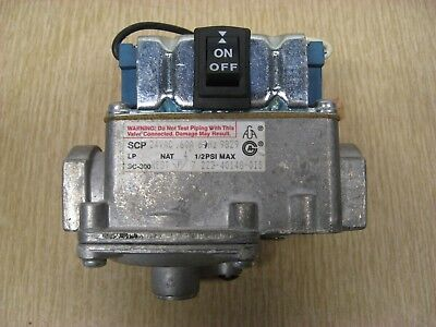 Bradford White SCP SC-300 NEST 222-40148-01B Water Heater Gas Control Valve Used