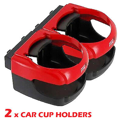 2 x Car Van Cup Drink Can Coke Wine Glass Holder Air Vent Universal Fit New AC22