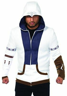 Leg Avenue Mens Assassins Creed Connor Officially Licensed Hoodie Costume LG