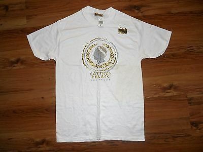 Vintage Caesars Palace Las Vegas Brand New T Shirt Medium Gold