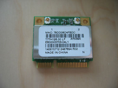 "Sony VAIO PCG-71912L 15.6"" Genuine Laptop Wireless WiFi Card T77H126.00 AR5B95"