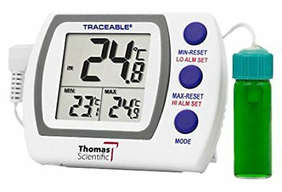 NEW Traceable 4627 Refrigerator Freezer Plus Thermometer with 5ml Vaccine Bottle