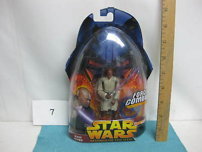 Star Wars action figure, sealed in package, Mace Windu, Force Combat, 2006