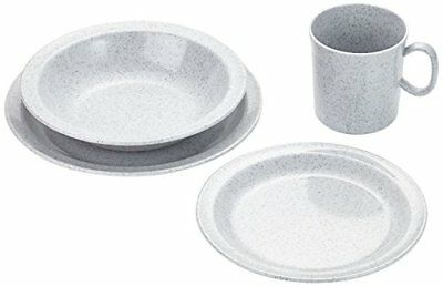 Relags melamine Family Set granite, 16 pieces