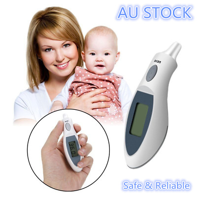 Digital Infrared Ear Thermometer Probe Cover Free Design for Kids/Adults w Case