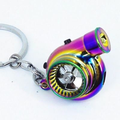 Neochrome  Keychain Colorful with BOV Sound Spins Men Keyring Car Gift