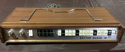 Hillwood (Nomad) Rhythm Maker 16 Rare Vintage Drum Machine Made in Japan