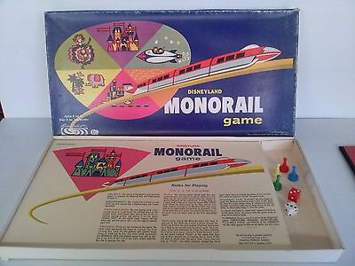 Disneyland Monorail Board Game. Complete