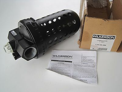 """NEW Wilkerson L30-08-000 Automatic Air Line Lubricator 26oz Oiler 1"""" NTP Port"""