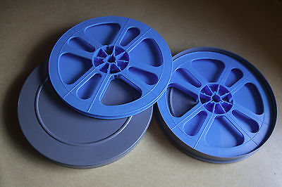 2 NEW 400' Super 8mm film reels with can. SHIPPING FREE!