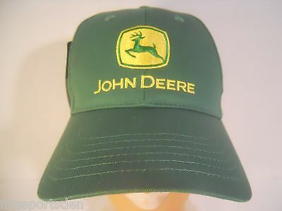 JOHN DEERE Advertising Hat ~ One Size Fits All Adjustable Hat ~ NEW #1
