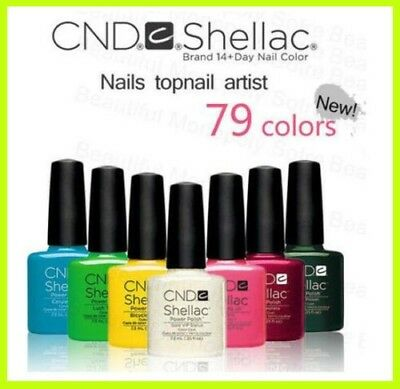 ORIGINAL CND Shellac UV Gel Nail Polish Best Gel 110 COLORS - PICK ANY COLOR
