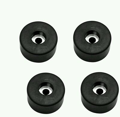 Lot of 4 Rubber Feet For Meat Grinder