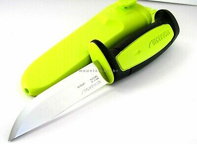 Mora Morakniv Basic 511 GREEN LIME Skinner Carbon Steel Blade Knife Sweden LIME