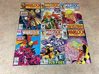 Warlock And The Infinity Watch  #1,2,3,4,5,6 Lot Of 6 Comic Nm 1992 Marvel