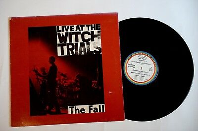 The Fall – Live At The Witch Trials - LP - US - 1979 -