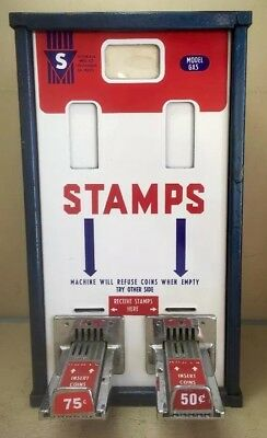 Vintage Shipman Mfg. Co. Us Postage Stamps  Machine Rare Top Load  Post Office
