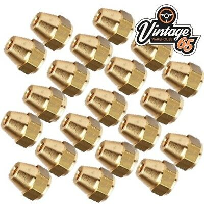 "Brass Brake Pipe Fittings 3//8/"" x 24 UNF Male 10 PACK for 3//16/"" Pipe FL10"