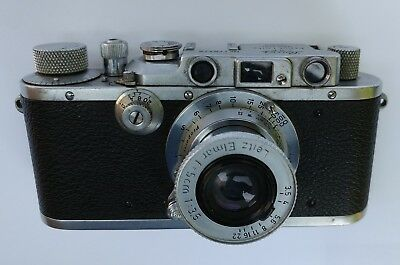 "Antique Leica Model ""F""  35mm 1930's Camera"