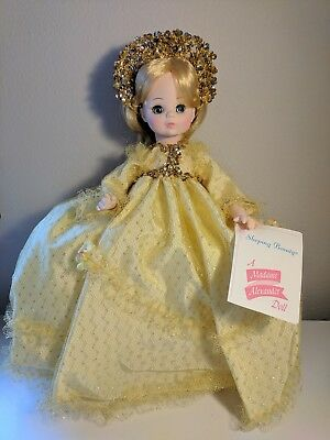 """Madame Alexander - Sleeping Beauty #1595 - Classic Series - Mint Condition - 14"""""""