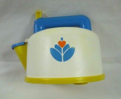 Vintage Fisher Price Fun with Food WHISTLING TEA POT Pretend Play Kitchen 1987