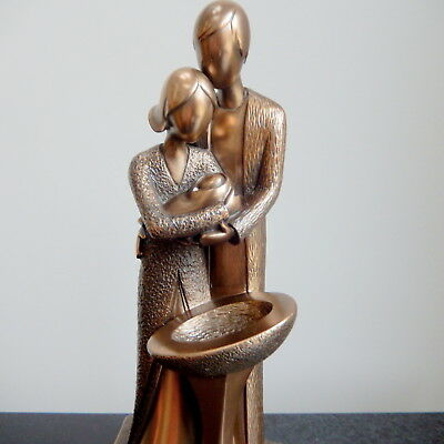 The Christening - Contemporary Style Bronze Sculpture / Figurine