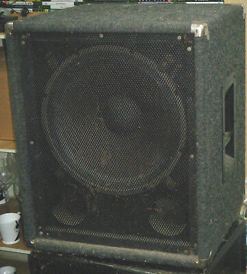 2x Large Electric Bass Guitar Speaker Box with Eminence Speakers