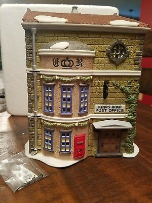 Dept. 56 Dickens Village Series King's Road Post Office #58017
