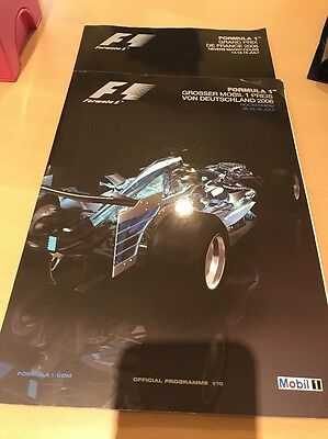 2006 FORMULA french And German GRAND PRIX F1 Programme