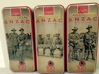 Anzac Biscuit Tins (set of 3 tins) series 4 2016