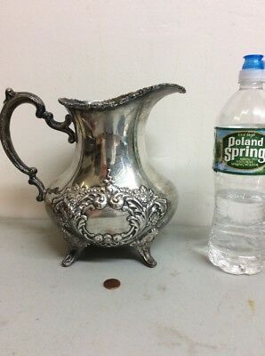 Beautiful Sterling Silver Water Pitcher