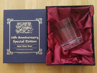 Pocket Dragons Kiss! Kiss! Kiss! Special Edition Commemorative Crystal Tumbler