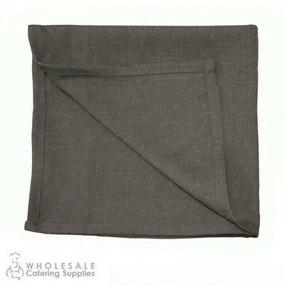 20x Rustic Grey Napkin Serviette, Cafe Restaurant Quality Textured Natural Feel