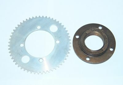 E-Bike Scooter Rear Sprocket 55T Tooth 25H Chain Plate &Clutch Bearing Freewheel
