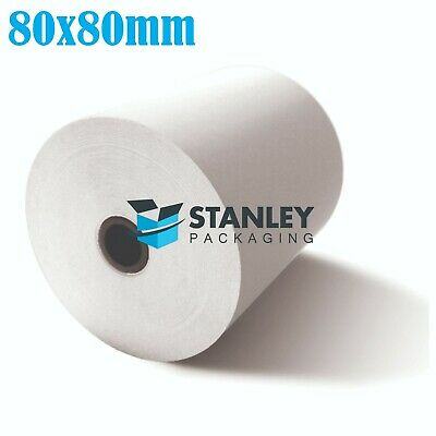 100x  Rolls 80x80mm Thermal Paper Cash Register Receipt Roll for Docket Printers