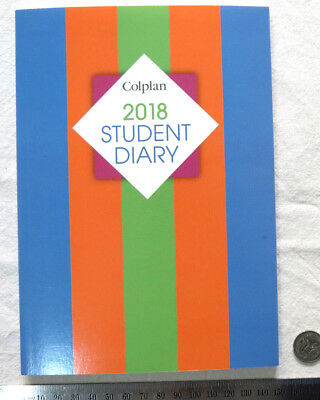 OLD Diary 2018 Colplan SC37 Student Planner A5 Week to View