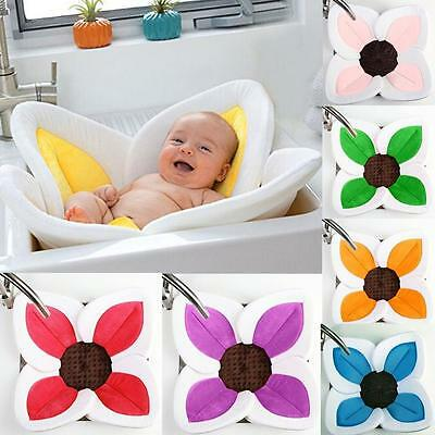 Baby Infant Blooming Bath Flower Blooming Sink Lotus Sunflowers Soft Bath Tub