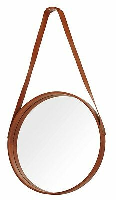 New Eclectic Collection Handmade Leather MirrorGreat Gift  Low Price