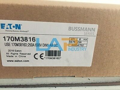 1PC NEW Bussmann 170M3816 250A 690V