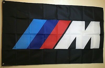 HIGH QUALITY BMW ///M Power Logo Car 3x5 Flag Banner Gift M Coupe Roadster