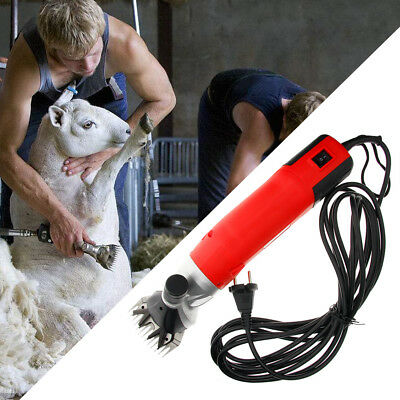 500W 110V Useful Electric Sheep Shearing for Goat Clipper Shear Alpaca Farm tool