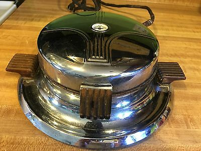 Vintage Electrahot Electric Waffle Iron Good Working Condition Model 375