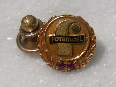 Vtg. FOREMOST DAIRY ICE CREAM Co. Employee Service Award Tie/Lapel/Hat pin
