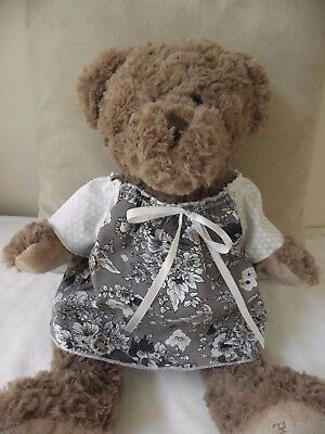 Dress & bloomers to fit Pumpkin Patch teddy girls 15 inch Build a bear clothes