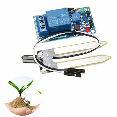 KF_ 12V Soil Humidity Moisture Sensor Controller Module Automatic Watering New