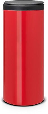Brabantia FlipBin With Plastic Lid, 30 L - Passion Red