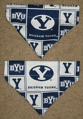 Brigham Young University BYU Cougars Dog Bandana - 5 sizes XS - XL