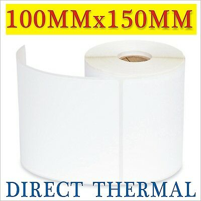 6x Thermal Direct Labels 4x6 for Fastway Startrack eParcel 100x150mm 300pcs/Roll
