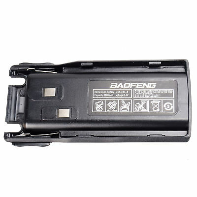 Baofeng Rechargeable Replacement Battery for UV-82 Radio 2800mah Li-ion 7.4V BL8