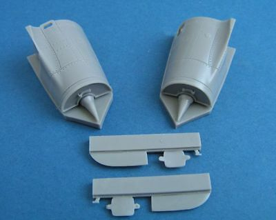 Pavla Models 1/48 Dassault Mirage 2000 Starboard Intakes with FOD for Kinetic
